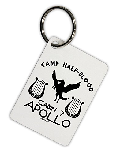 TooLoud Cabin 7 Apollo Camp Half Blood Aluminum Keyring Tag ()