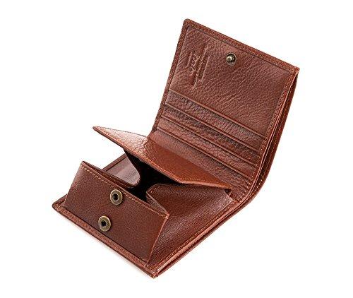 10 Portefeuille Orientation Italy x Cuir 9 grain Marron Couleur Collection de 5 CM Taille Horizontalement 065 21 Matériel Wittchen 1 5 PqafwdxOP