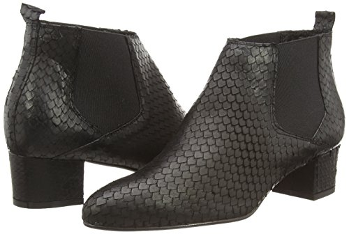 Noe Antwerp Nax - botas de piel mujer negro - Schwarz (NERO 101)