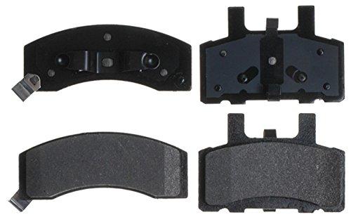 - ACDelco 14D370MH Advantage Semi-Metallic Front Disc Brake Pad Set with Hardware