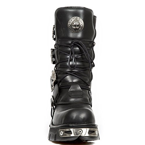 New Rock - Botas 391, calaveras Nero (nero)