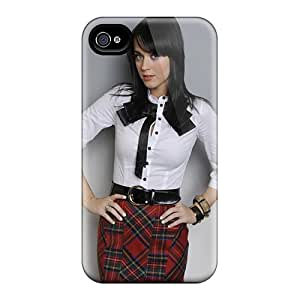 Anti-scratch And Shatterproof School Girl Katy Perry Phone Case For Iphone 4/4s/ High Quality Tpu Case