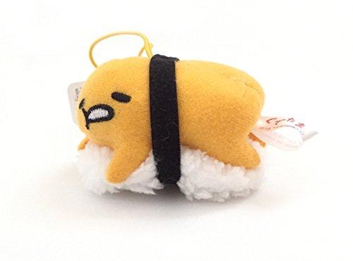 Sanrio Gudetama Lazy Egg Strap Mascot Charm Plush Doll ~ Sushi Type C -