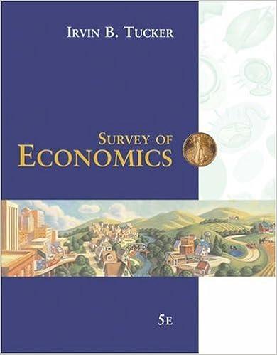 Survey of economics: principles, applications and tools plus.