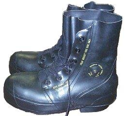 Black Mickey Mouse Boots - New Military Surplus - stylishcombatboots.com
