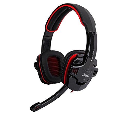 ZEBRONICS Gaming Headphone with MIC Iron Head PRO PC Headsets