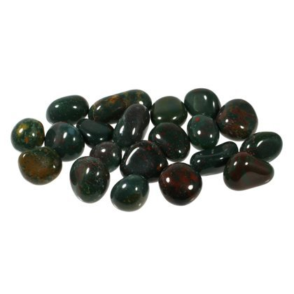 Bloodstone Tumble Stone (10-15mm) - Pack of 5