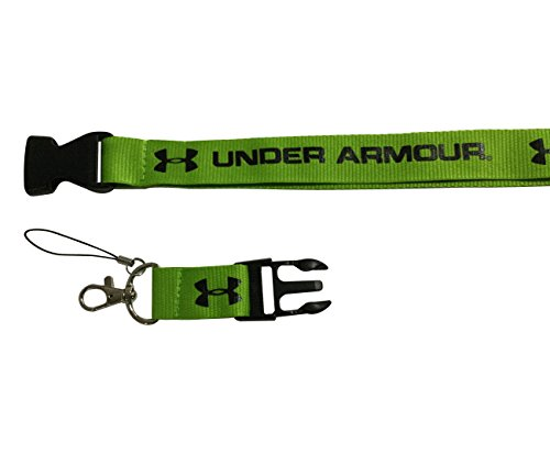 Cybert New Green Color Lanyard Workout Gear Office Exercise Gym Running Sports Training With Webbing Strap Quick Release Buckle For Under Armour Enthusiasts Men Women