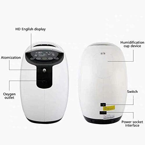 S SMAUTOP Concentrador de oxígeno, purificador de aire portátil ...