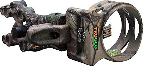 Truglo Bow Sight Carbon XS Xtreme 5-PIN .019DIA, RT-XTRA