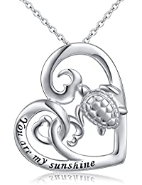 4f26509b2 (Health and Longevity) S925 Sterling Silver Turtle Animal Earrings/Necklace /Ring/
