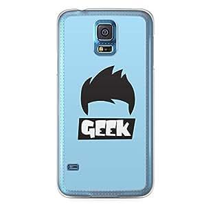 Geeks Samsung Galaxy S5 Transparent Edge Case - Design 2