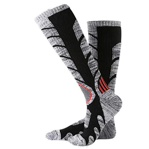 Socks, FORUU Sales 2019 Winter Warm Under 10 Best Gift Men Women Long Ski Thicker Sports Snowboard Climbing Camping Hiking Black