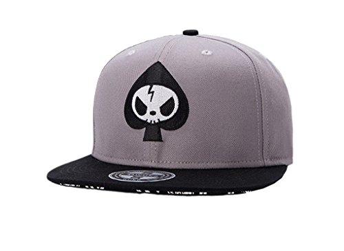 ACME Unisex Snapback Basecap Hip Hop Hat Cap Baseball Kappe Mütze für Jungen und Mädchen Schwarz