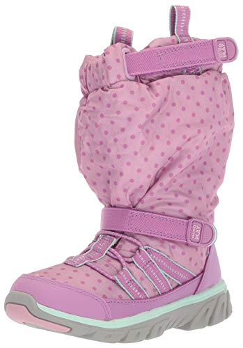 Stride Rite Baby Boy's and Girl's Machine Washable Snow Boot, Purple, 9 W US Toddler (Best Snow Boots For Toddlers)