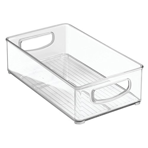 InterDesign Home Organizer Bin for Pantry, Refrigerator, Freezer & Storage Cabinet, 10