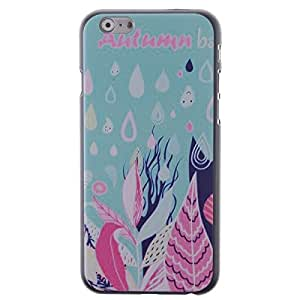 """Autumn Rain Floral Pattern Phone Hard Back Case Cover Skin Protector for iPhone 6 4.7"""""""