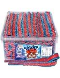 TNT Blue Raspberry Sour Straps, 200 Pieces 1.4kg