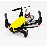 HOBBYMATE Q100 Micro FPV Brushed RC Quadcopter Frame Kit Combo with 8520 Motor N32 Brused FC, Mini VTX Camera, Battery, Blade