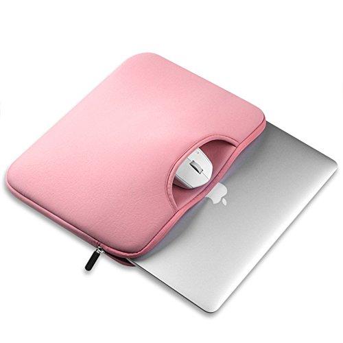 Funda para Portátiles / Maletín con Asa Para Ordenador Portátil Notebook / Ultrabook Tablet de Maleta Bolsa de Transporte Pink