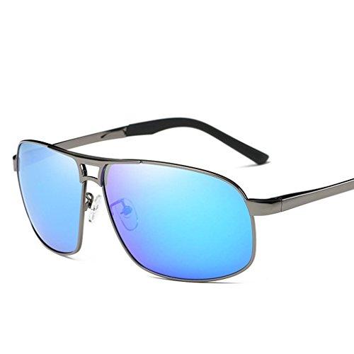 en UV400 Cadre extérieure Lunettes Coolsir Hommes visuel soleil Mengonee alliage HD de conduite Lunettes Polarized 4 Protection fzSxRw
