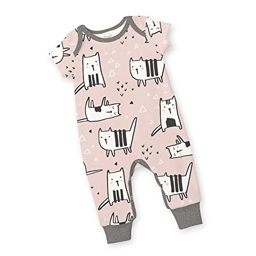 Tesa Babe Baby Girl Boy Romper Unisex Clothes Gift with Kitty Cats for Infant Girls Boys (Cats, 3-6 Months)