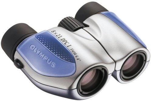 Olympus Roamer 8 x 21 DPC I Series Porro Binoculars - Blue