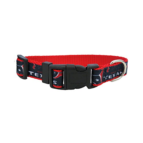 NFL Houston Texans Team Pet Ribbon Collar, - Houston Dog Texans Collar