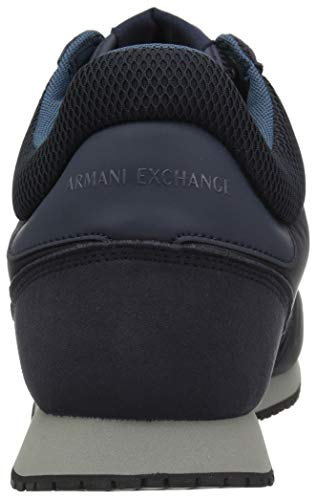Running Ink Navy Men Exchange X Retro A Armani india Hw77qp