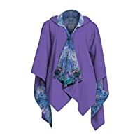 GALLERIA ENTERPRISES, INC. Monet, Waterlilies and Reflection of a Willow Tree RainCape