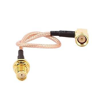 Amazon.com: eDealMax SMA-JW Macho a SMA-KY Mujer RG316 Cable ...