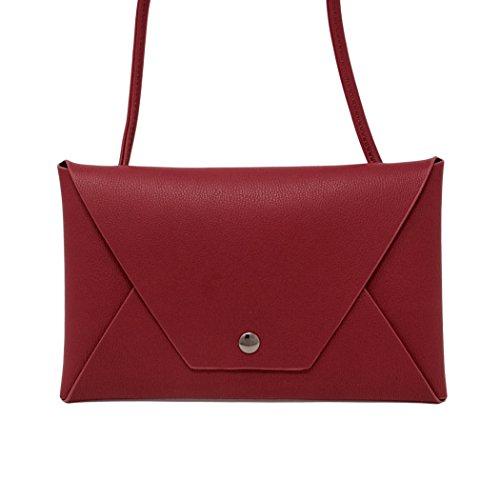 Envelope Mini Women Bag Me Fashion Red Clutch Crossbody Plus Handbag 4TOwqAU