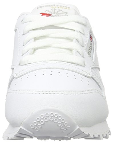 Leather De Trail Blanco Zapatillas Running Classic white Reebok Niños 0 Unisex Cqw5FR