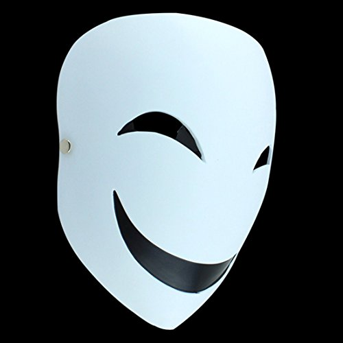 MICG Resin Mask Halloween Collector Props The Film Theme With Black Bullets Decorative Masks by MICG