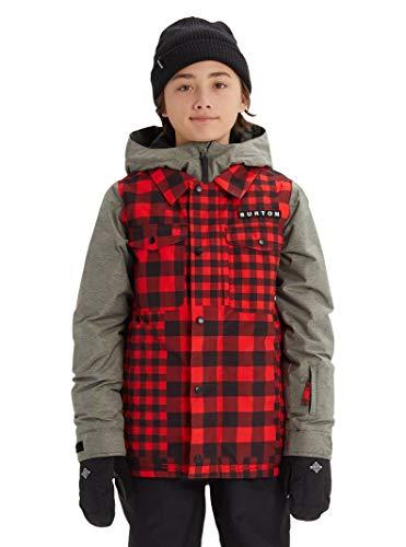 Burton Kids' Uproar Jacket, (Burton Red Ski Helmet)