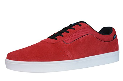 Vans Numeral Unisex Leather Suede sneakers / Shoes – Red – SIZE US 10.5