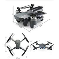 Selfie Fold RC Pocket Drone 2.4G 4CH Altitude Hold 0.3MP HD Camera WIFI FPV RC Quadcopter,LED Light /6-Axis/3D-flip