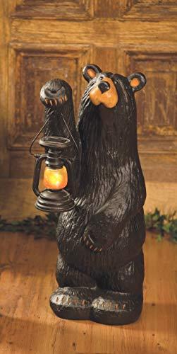 DEMDACO Koleman Bear with Lantern, Bearfoots Bears Grand Series
