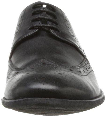 Clarks - Zapatos de Cordones de cuero Hombre Negro (Black Leather)