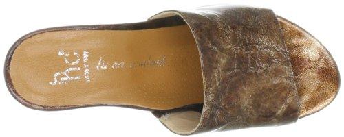 Marrón Cuero Clásicas Para Braun Collection 070300 Sandalias Hans De Mujer Herrmann 50 awHP8qYxgO