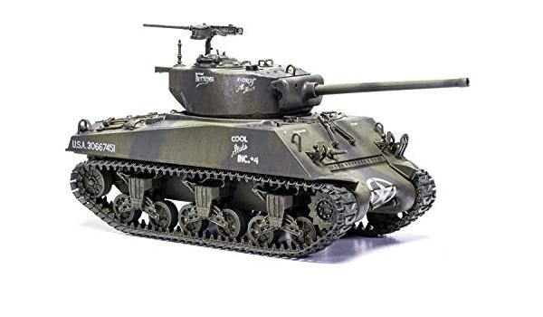 Heller 1//35th WW2 Sherman M4A3 76mmW Tank US//French Army Version Model Kit 81161