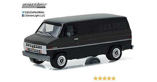 A.s.s nuevo GreenLight 1//64 chevrolet silverado Police Black Bandit Collection EE UU.