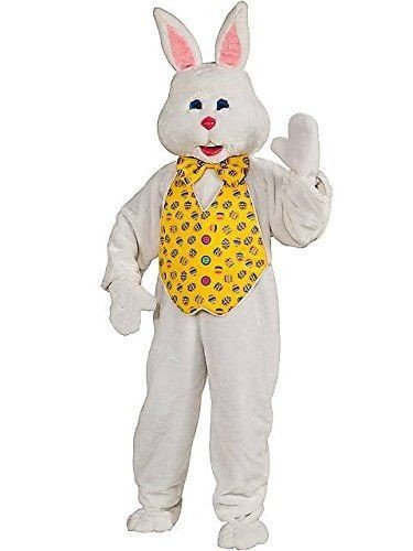 ChatAngle(TM) Rubies Costume Deluxe Bunny Suit With Hood Multi X-Large -