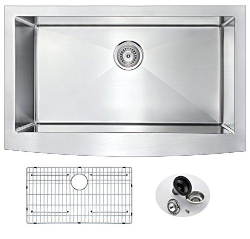 "33"" Stainless Steel Farmhouse Stainless Steel Kitchen Sink |"
