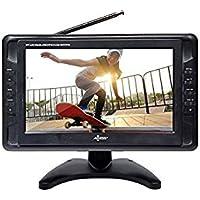 Axess TV1703-10 10.1-Inch LCD TV, ATSC Tuner, USB/SD Remote Control