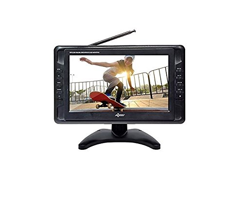 Axess TV1703-10 10.1-Inch LCD TV, ATSC Tuner, USB/SD Remote - Lcd Tv Receiver