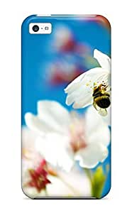 Snap-on Case Designed For Iphone 5c- Spring Bee