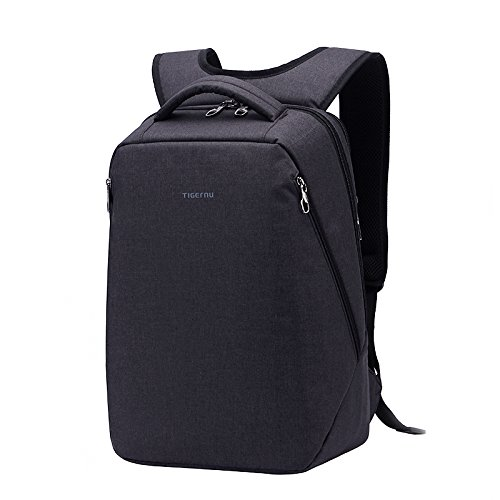 Kopack Laptop Backpack Anti Theft Travel Backpack Bag for Men Women Water Resistant Lightweight fit 15.6 17 Inch Laptop Notebook Black