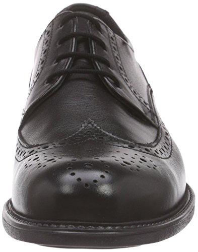 Lloyd Tampico, Zapatos de Cordones Derby para Hombre Negro - Schwarz (SCHWARZ 0)