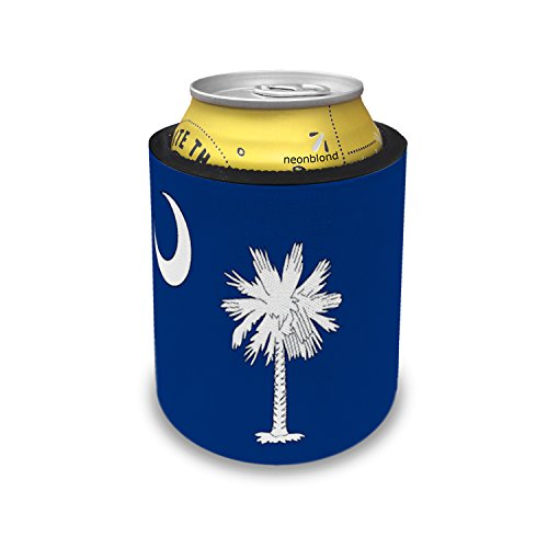 - Slap Can Coolers South Carolina Flag region: America (USA) Insulator Sleeve Covers Neonblond